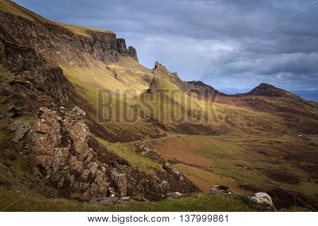The Quiraing Isle of Skye Scotland UK