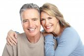 image of old couple  - Seniors couple in love - JPG