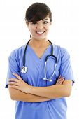 Female Healthcare Worker