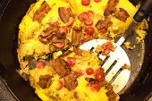 Frittata Ready For Serving