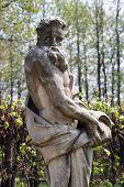 Sculpture in park Kuskovo  poster