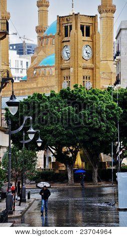 Rain in Beirut Spring