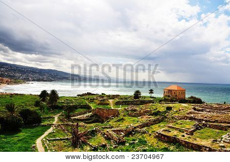 Byblos, the ancient Phoenician town in Lebanon