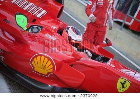 Formação 2007 em Cheste Valencia Fórmula 1
