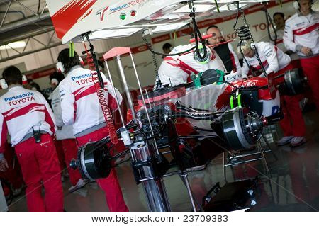 Training 2007 in Cheste Valencia Formula One