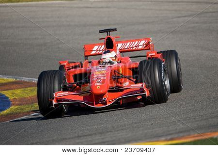 Training 2007 in Cheste Valencia Formel