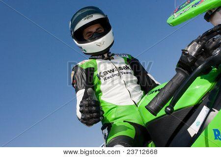 CEV spanischen Geschwindigkeit Meisterschaft Cheste Valencia