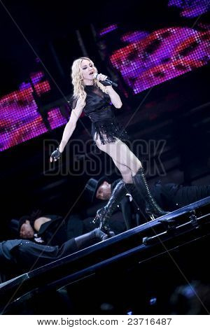 Valencia (Spain) - September 18th 2008 - sticky & sweet tour - Ricardo Tormo Circuit of Valencia - Madonna