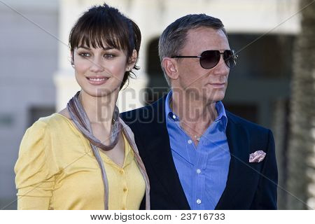 Valencia, Spain, 2008 November 6th, official presentation of the film Quantum of Solace, James Bond 007, Las Arenas Hotel, Olga Kurylenko
