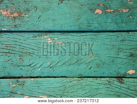 Teal Green Painted Wooden Board Texture Timber Top View Photo Background Rustic Wood
