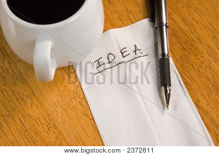 Idea On A Napkin
