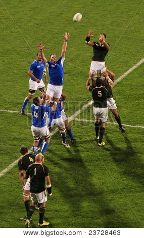 Rugby World Cup 2011 South Africa Versus Namibia