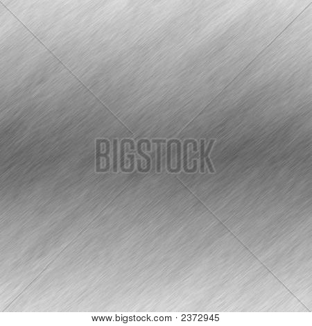 Brushed Metal Surface Effect Background.