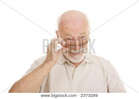 Senior In Sunglasses