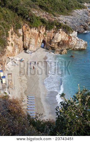 Mylopotamos beach at Pelion, Greece