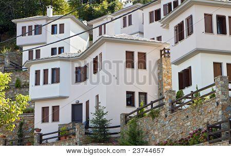 Tsagarada village of Pelion in Greece