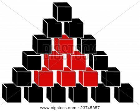 cubic pyramid