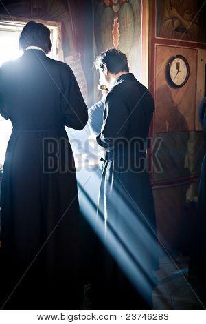 Orthodox Liturgy with Bishop
