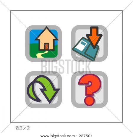 Web: Icon Set 03 - Version 2
