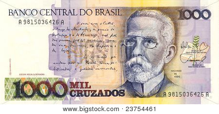 1000 Cruzado Banknote