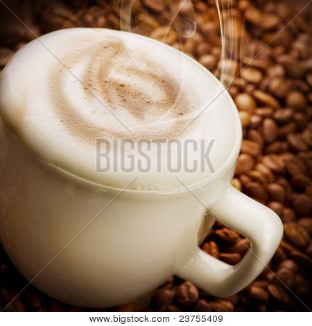 Coffee Latte or Cappuccino