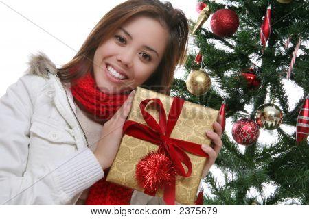 Pretty Woman At Christmas