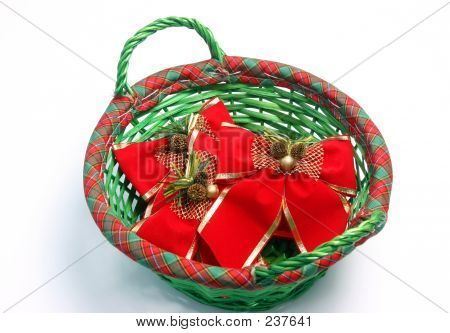 Christmas Basket 849