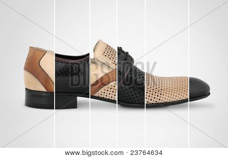 Man`s Shoes Conctpt