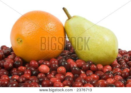 Cranberry, Orange And Pear