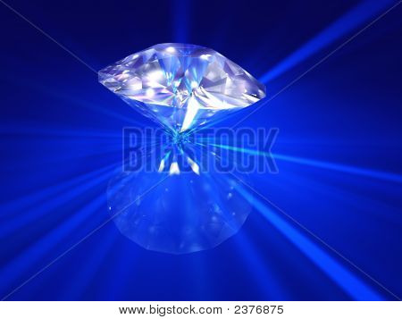 Blue Fire Diamond