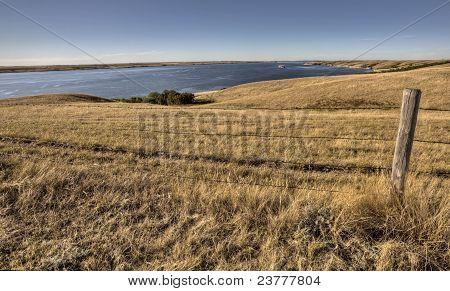 Lake Diefenbaker Saskatchewan Canada