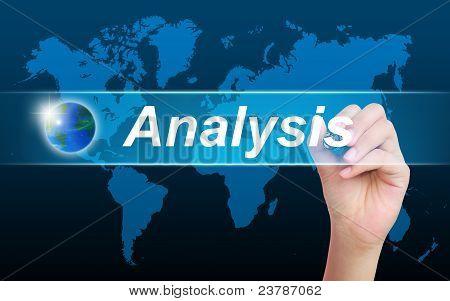 women hand writing analysis