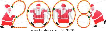Four Santa