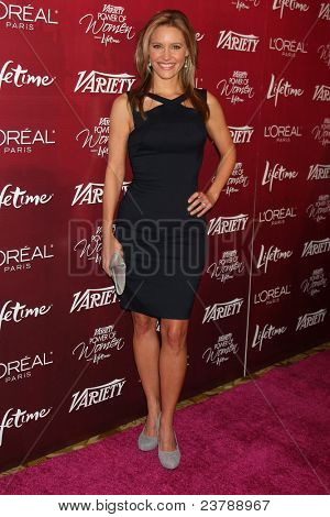 LOS ANGELES - SEPT 23:  KaDee Strickland arriving at the Variety's Power of Women Luncheon at Beverly Wilshire Hotel on September 23, 2011 in Beverly Hills, CA