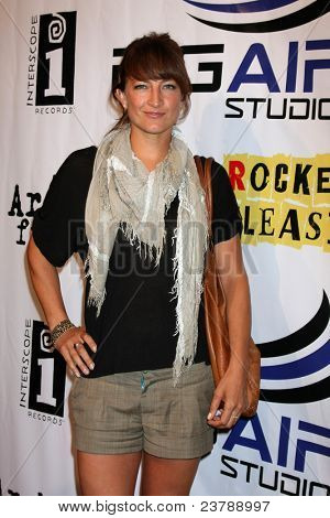 LOS ANGELES - SEPT 22:  Zoe Bell arriving at the premiere of