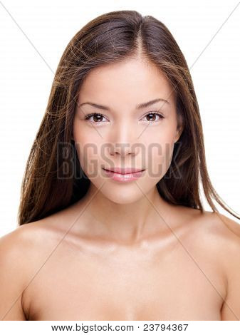 Beauty Woman Portrait - Brunette
