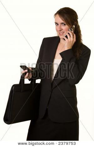 Busy Working Woman