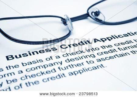 Pedido de crédito de empresas