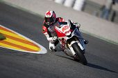 VALENCIA, SPAIN - NOVEMBER 6: Fonsi Nieto in motogp Grand Prix of the Comunitat Valenciana, Ricardo