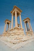 Постер, плакат: Руины в Пальмире