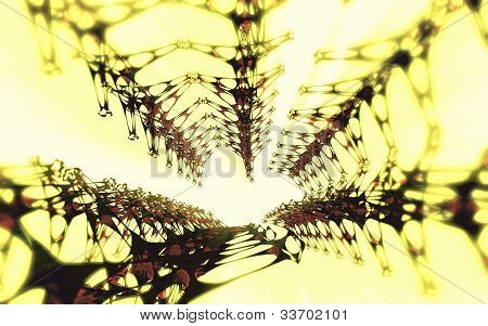 Abstract 3D neuron composition