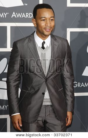 LOS ANGELES, CA - JAN 31: John Legend at the 52nd Annual GRAMMY Awards held at the Nokia Theater on January 31, 2010 in Los Angeles, California