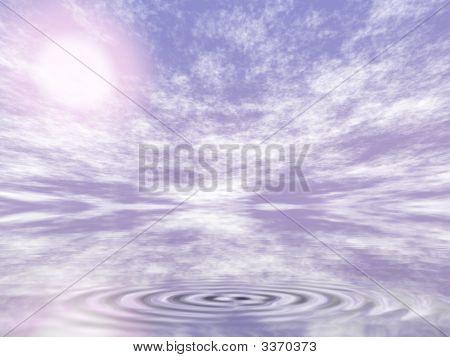 Abstract World Big Ripple