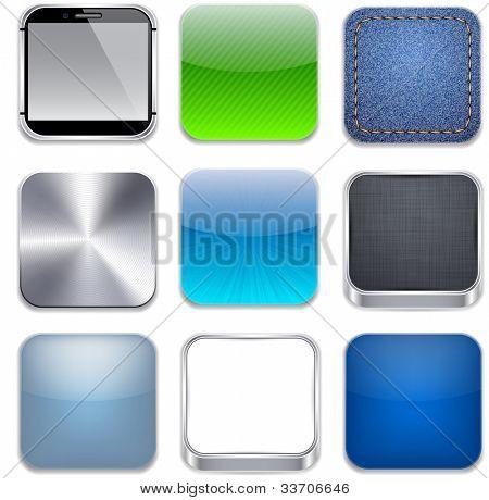 Vectorillustratie van hoge-gedetailleerde apps icon set.
