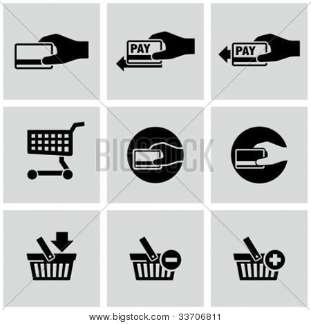 Payment icons set. E-commerce.