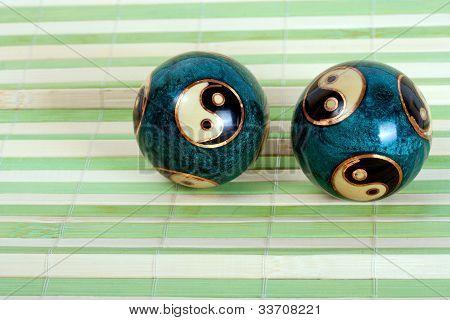 Pair Chinese Balls
