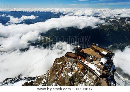 Aiguille du Midi, Haute Savoie, France