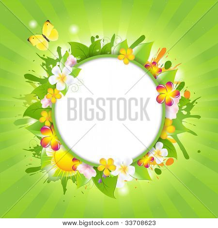 Summer Color Sale Design Template, Vector Illustration