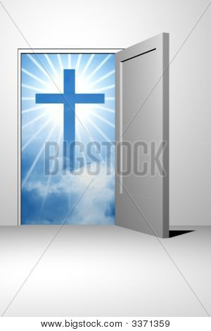 Entrada de cielo de Dios