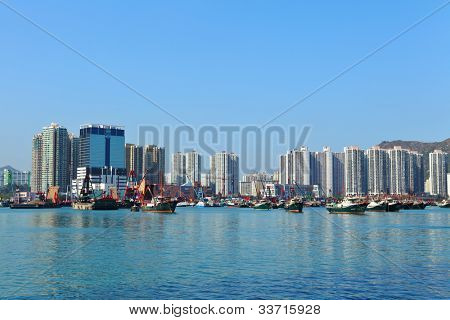 typhoon shelter in Hong Kong, Tuen Mun